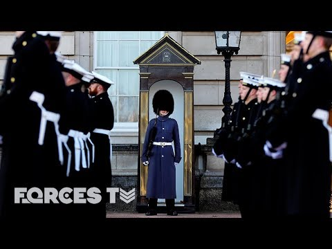 Why The Royal Navy Went On Guard At Buckingham Palace | Forc