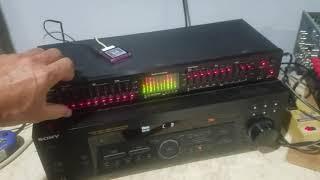Audio Source EQ EIGHT Series II Equalizer test
