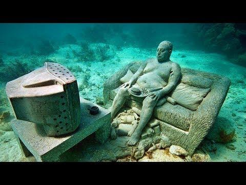 10 choses mystérieuses découvertes sous l'eau !