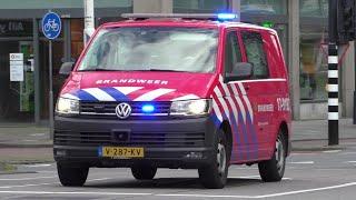 #322 - Brandweer, Ambulances en Politie met spoed onderweg in Rotterdam en Amsterdam