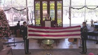 FPC Rockwall, Service of Witness to the Resurrection for Ken Strack, 1-3-21