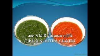 ঝাল ও মিষ্টি মুখরোচক চাটনি    Tikha o Mitha chatni   