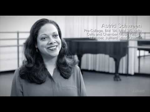 Juilliard Snapshot: Astrid Schween on Her Juilliard String Quartet Audition