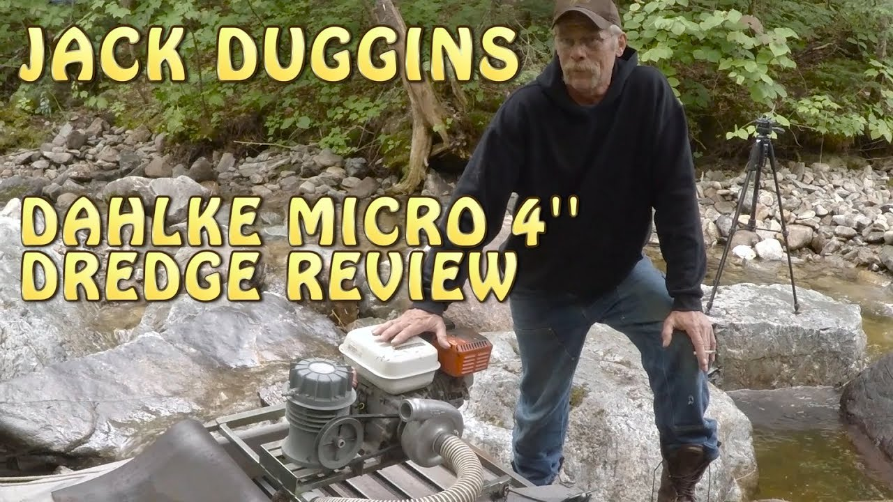 Jack Duggins Reviews the 4'' micro Dahlke Dredge + Reading the river +  Dredging in Maine