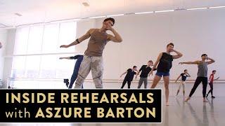 Houston Ballet Rehearsal with Aszure Barton