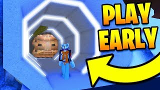 HOW TO PLAY THE WINTER UPDATE EARLY! Jailbreak INSIDE The NEW BASE! | Roblox Jailbreak Winter Update