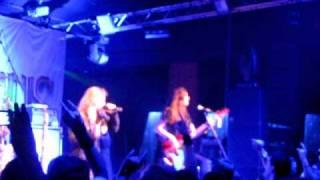 Stratovarius - The Kiss of Judas Live (fragment) @Rockstar Barakaldo (14-01-11)