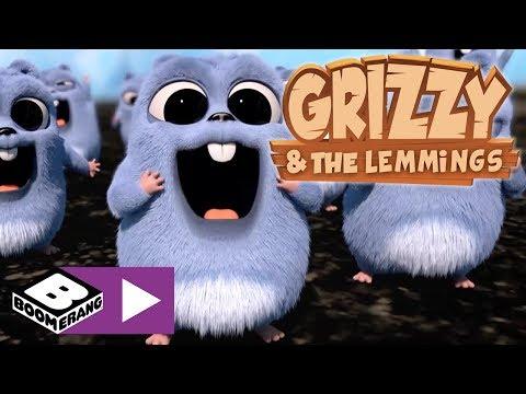 Grizzy ve Lemmingler | Doğada Kamp | Boomerang