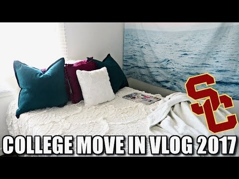 COLLEGE MOVE IN VLOG 2017 │USC