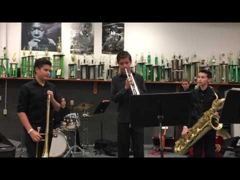 "Colina Middle School Jazz Combo- ""Blue 'Samba'"""
