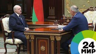 Лукашенко обсудил с премьер-министром белорусско-российские отношения