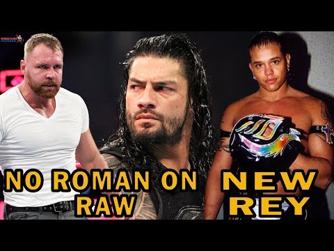 NO ROMAN REIGNS ON RAW!!! |  REY MYSTERIO NEW LOOK?! |