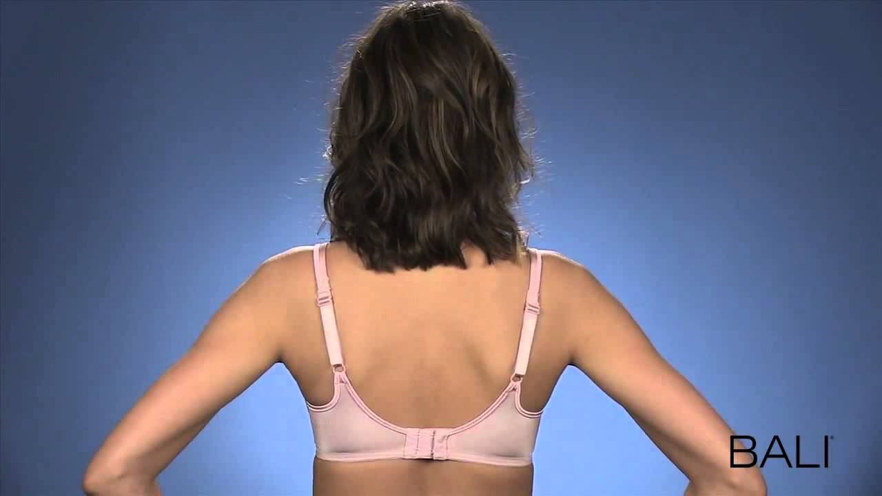 432c4f2602 Bali One Smooth U Side Support Underwire Bra 3547 - YouTube