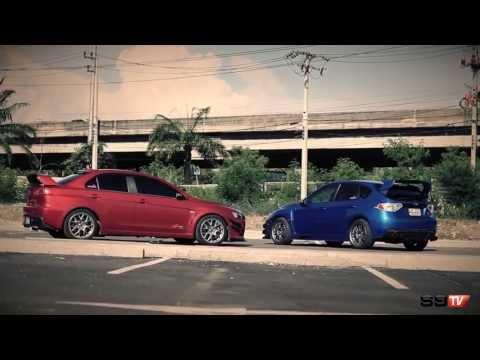 S9TV Vol.2 : Mitsubishi EVOX x Subaru Impreza GRB