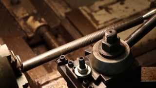 machining and installing height adjustment screws for a j a vance planer matcher