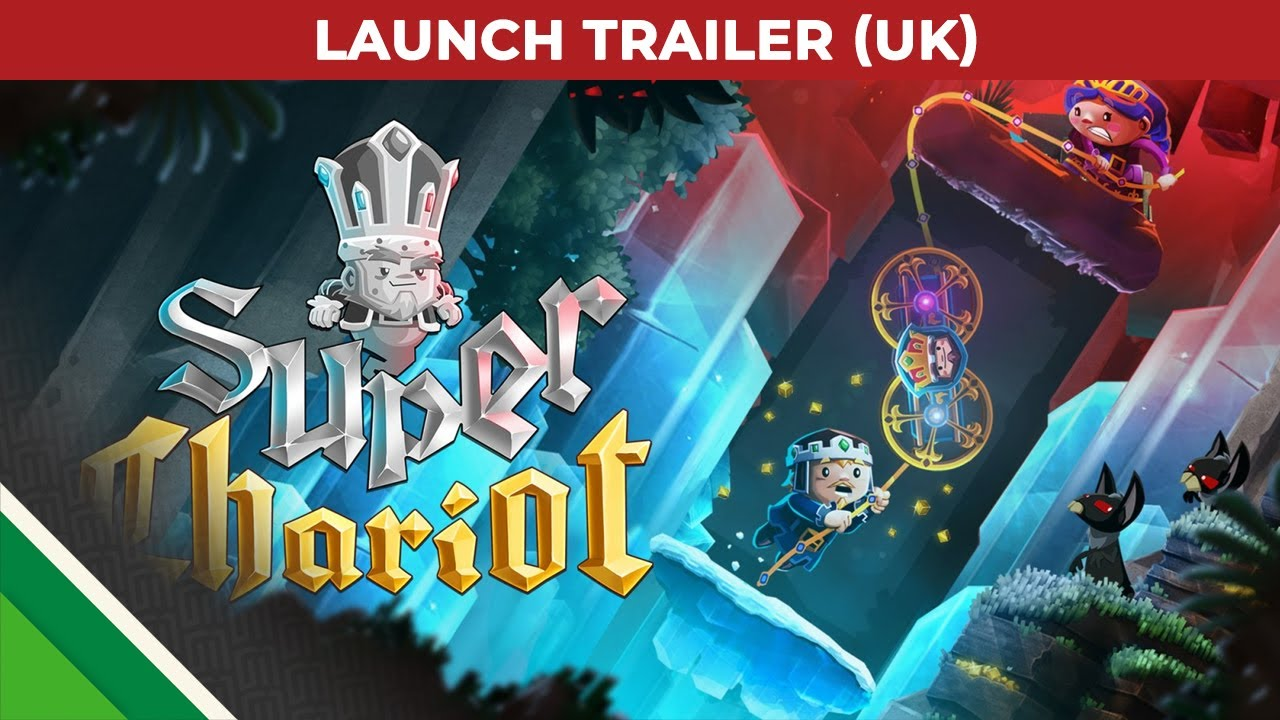 Frima Studio super chariot | launch trailer uk | microids & frima studio