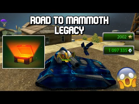 Tanki Online Road To Mammoth Legacy Completed - Opening XT Container