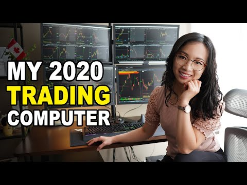 Best Day Trading Computer Station for 2021- Day Trading Gaming Set Up