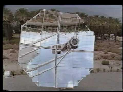 World Record Setting Solar Parabolic Dish Stirling System, 1984