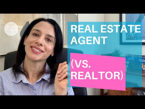 REALTOR (vs Real Estate Agent )