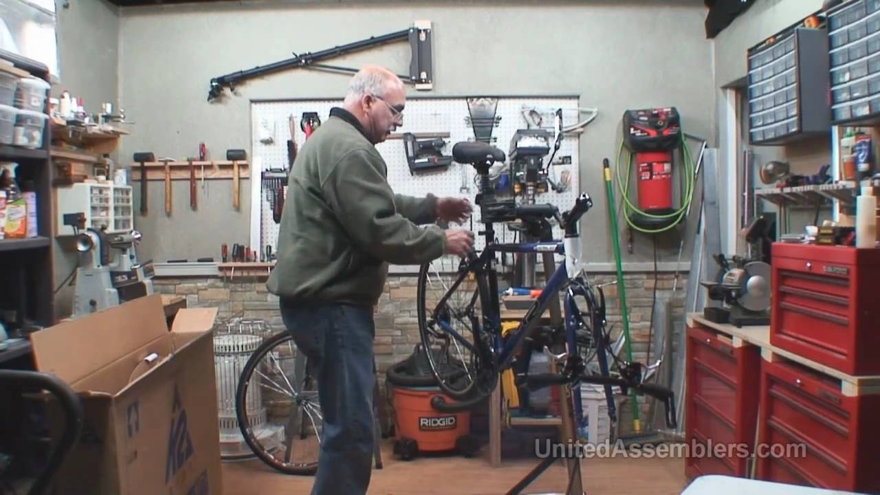 How to assemble a store bought bike (Bicycle) - YouTube