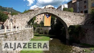 Catalan villagers uncertain about independence referendum