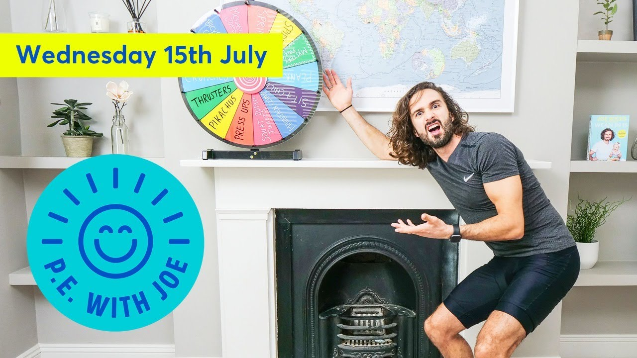PE With Joe | Wednesday 15th July