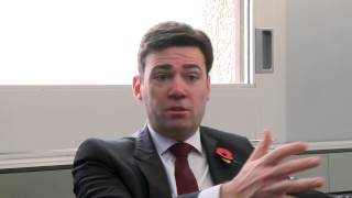 Andy Burnham interview at CPHVA conference