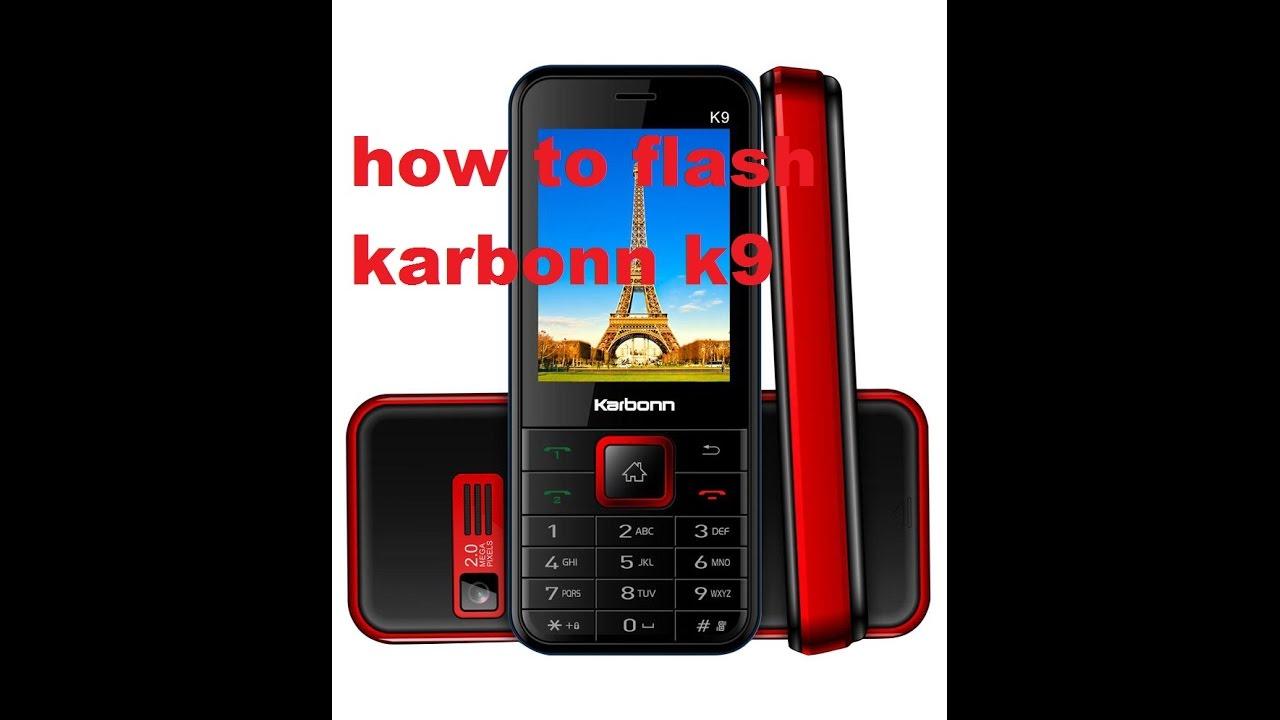 How to flash karbonn K9