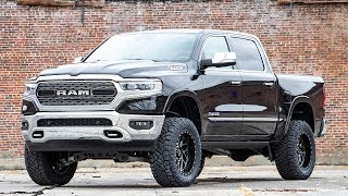 2019 Ram 1500 Active-Level Four-Corner Air Suspension 5-inch Suspension Lift Kit by Rough Country
