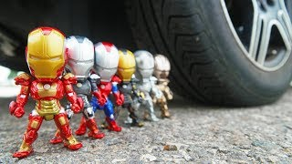 CAR VS IRON MAN 1~8 Compilation