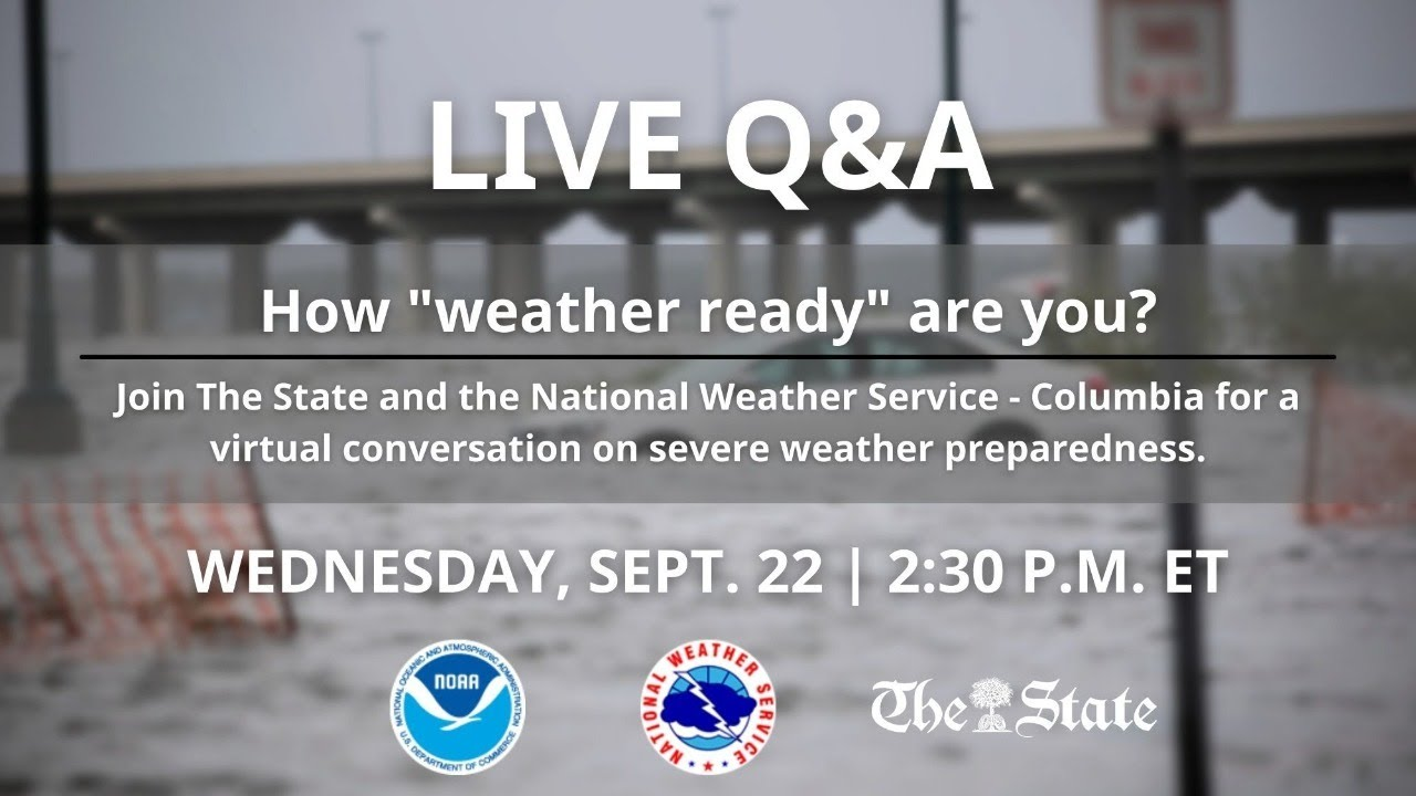 """Live Q&A: How """"weather ready"""" are you?"""