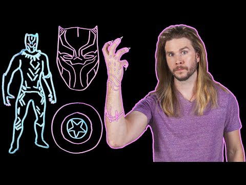 How Black Panther's Vibranium Suit Works! (Because Science w/ Kyle Hill)