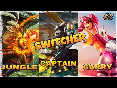 VAINGLORY: O.P. Hero Role Switch   Koshka Ringo Idris   Epic Casual Match   Switcher Ep2