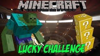 Испытания с Lucky Blocks:Боссы #1 Зомби Мутант! Мини игра с Модами!