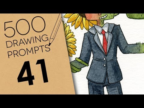 500 Prompts #41 - FLOWER FRIEND OR CACTUS FOE