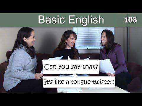 Lesson 108 ????? Basic English with Jennifer ? Building Fluency