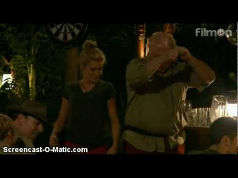 "Ashley Roberts dances to ""Buttons"" by The Pussycat Dolls - I'm A Celebrity...Get Me Out Of Here 2012"