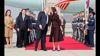 Melania Trump Lands a Kiss