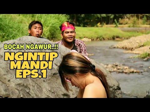 NGINTIP CEWEK CANTIK MANDI DI SUNGAI EPS.1 - FILM PENDEK LUCU BANGET (BOCAH NGAWUR)