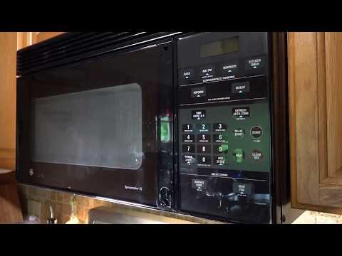 ge microwave door handle replacement