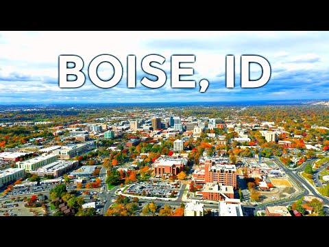 Boise, Idaho Drone Footage 2019