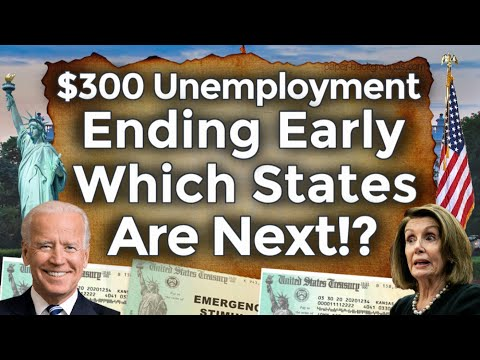 UNEMPLOYMENT EARLY ENDING NOW 11 STATES!! UNEMPLOYMENT BENEF