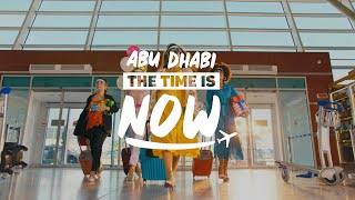 The time is now to experience the adventures you've been waiting for #InAbuDhabi - Let's go!
