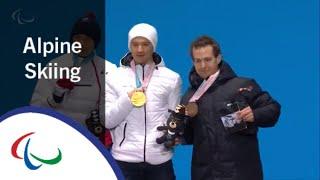 Victory Ceremony   Men's super combined Standing   Alpine skiing   PyeongChang2018 Paralympics