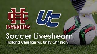 HC JV Soccer vs Unity Christian