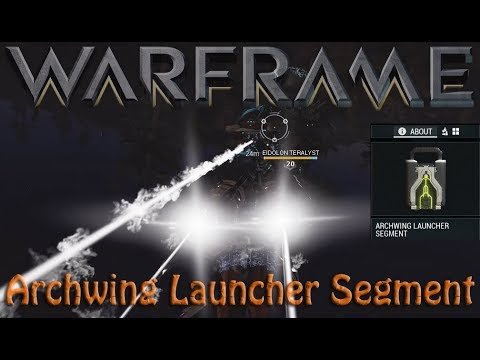 Warframe - Archwing In Plains (Archwing Launcher Segment)