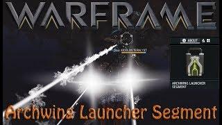 Warframe - Archwing In Plains (Archwing Launcher Segment)