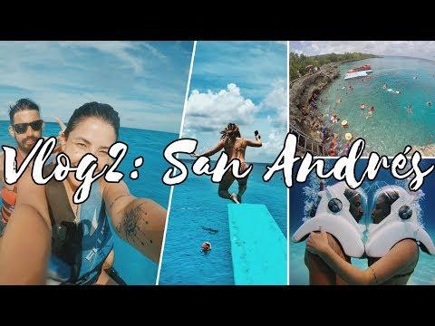 VLOG SAN ANDRÉS #2: Spratt Bight, West View, Aquanautas e Passeio de Jet Ski