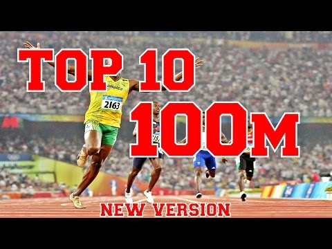 TOP 10 | 100m Track & Field sprints of all time